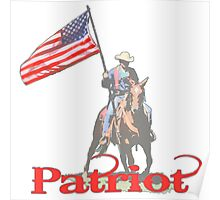 Mounted Patriot  Poster