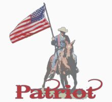 Mounted Patriot  One Piece - Long Sleeve