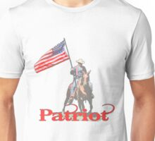 Mounted Patriot  Unisex T-Shirt