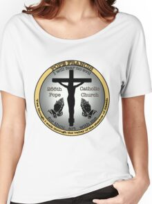 Pope Francis  Women's Relaxed Fit T-Shirt