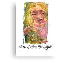 Now I See the Light Canvas Print
