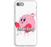 I Main Kirby - Super Smash Bros. iPhone Case/Skin