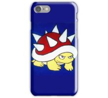 Spiky Red Shell Turtle iPhone Case/Skin