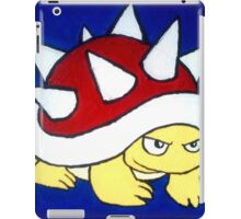 Spiky Red Shell Turtle iPad Case/Skin