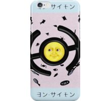 Unown Moon Emoji iPhone Case/Skin