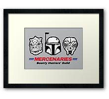 Mercenaries Framed Print