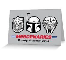 Mercenaries Greeting Card