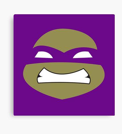 Ninja Donatello Turtles Canvas Print