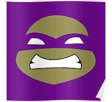Ninja Donatello Turtles Poster