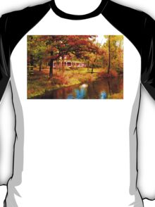 House on Pine River,Wisconsin U.S.A. T-Shirt