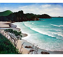 Incoming Tide - Sandy Bay, Northland (2009) Photographic Print