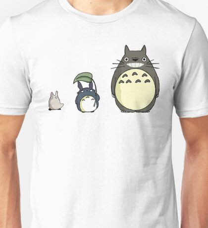 My neighbor Totoro! - Height comparison Unisex T-Shirt