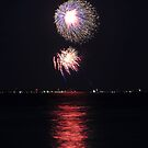 Fireworks in Falmouth, MA by Douglas Gaston IV