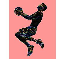 Silhouette Slam - Electronic Photographic Print