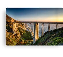 Pacific Highway Bridge Canvas Print