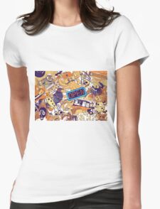 Urban Panel Womens Fitted T-Shirt