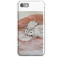 Hungry Rats -- pen and ink sketch iPhone Case/Skin