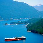 Beautiful Burrard Inlet by Carol Clifford