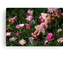 Discarded Toys Canvas Print