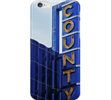 County Theater of Doylestown iPhone Case/Skin