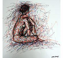 Seated Female Nude II (2009) Photographic Print