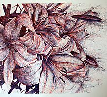 Lilies I (2009) by Lauren Worsley