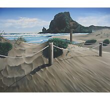 Piha Tranquility (2008) Photographic Print