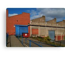Industrial Building Canvas Print