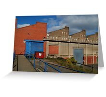 Industrial Building Greeting Card