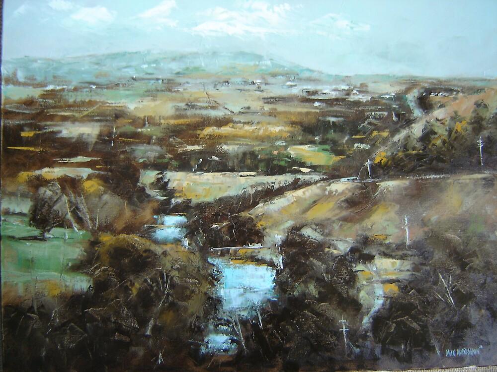 Barrabool Hills by Mick Kupresanin