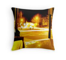 Round-a-bout Throw Pillow