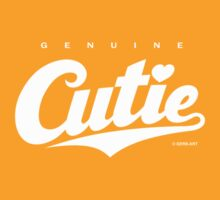 GenuineTee - Cutie (white) by GerbArt
