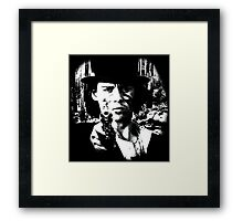 DEAD MAN JOHNNY DEPP JIM JARMUSCH SHIRT Framed Print