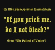 Shakespearian Haematology, Funny by Ron Marton