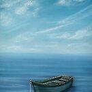 Boat on the Lake by Cherie Roe Dirksen