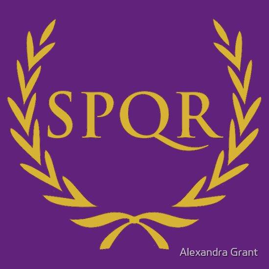 spqr wallpaper purple - photo #13