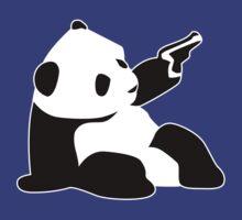 Baby Banksy Panda Gun by gungun44