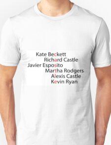 Castle Word Art T-Shirt