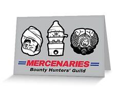 Mercenaries 2 Greeting Card