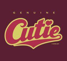 GenuineTee - Cutie (Scarlet/yellow) by GerbArt