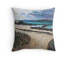 North End Beach, Iona Throw Pillow