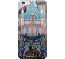 Disneyland 60 castle iPhone Case/Skin