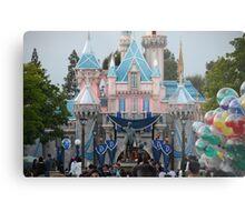 Disneyland 60 castle Metal Print