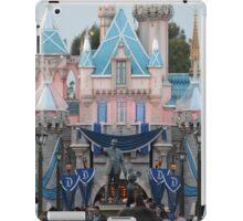 Disneyland 60 castle iPad Case/Skin