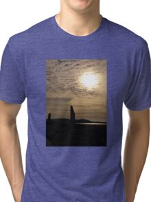 Evening at Brodgar Tri-blend T-Shirt