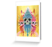 Sundae Skulls Greeting Card