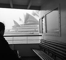 Sneaky Sydney Opera House  by djskinnylatte