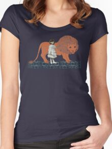 Pet Lion Women's Fitted Scoop T-Shirt