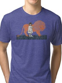 Pet Lion Tri-blend T-Shirt