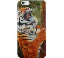 Tiger Chasing Prey iPhone Case/Skin